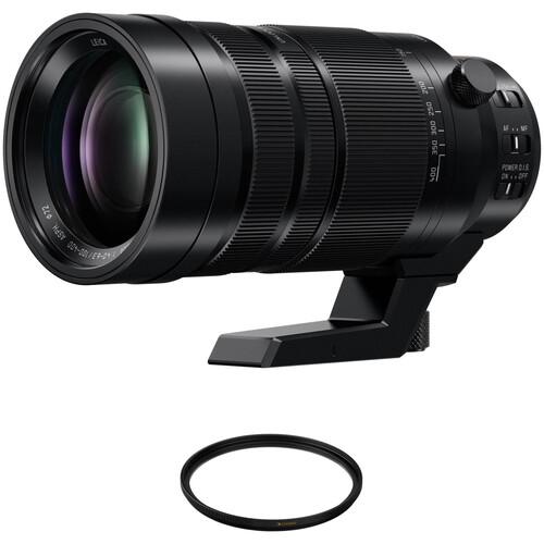 Panasonic Leica DG Vario-Elmar 100-400mm f/4-6.3 ASPH. POWER O.I.S. Lens with UV Filter Kit