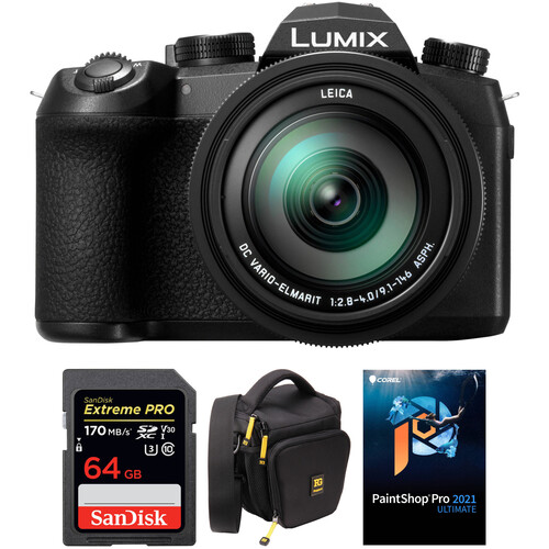 Panasonic Lumix DC-FZ1000 II Digital Camera with Accessories Kit
