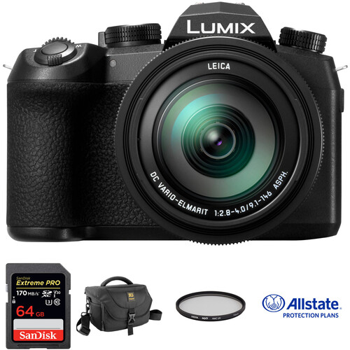 Panasonic Lumix DC-FZ1000 II Digital Camera Deluxe Kit