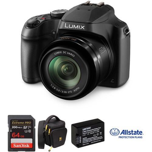 Panasonic Lumix DC-FZ80 Digital Camera Deluxe Kit