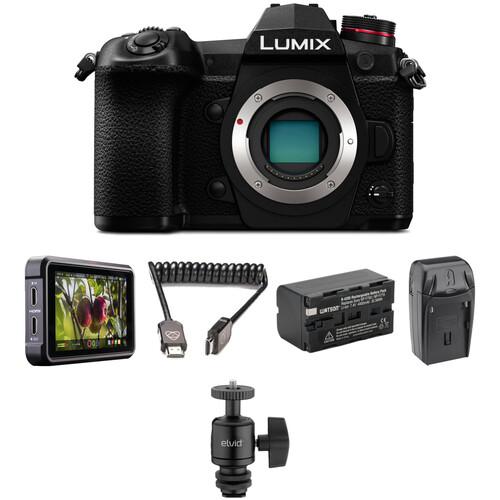 Panasonic Lumix DC-G9 Mirrorless Digital Camera HDR Filmmaker Kit