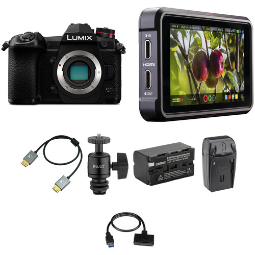 Panasonic Lumix DC-G9 Mirrorless Digital Camera Cine Kit
