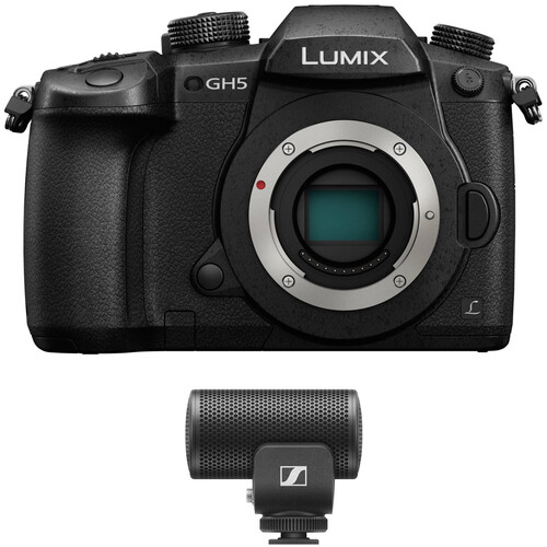 Panasonic Lumix DC-GH5 Mirrorless Micro Four Thirds Digital Camera Audio Kit