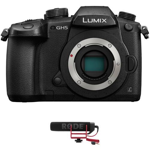 Panasonic Lumix DC-GH5 Mirrorless Micro Four Thirds Digital Camera with Microphone Kit