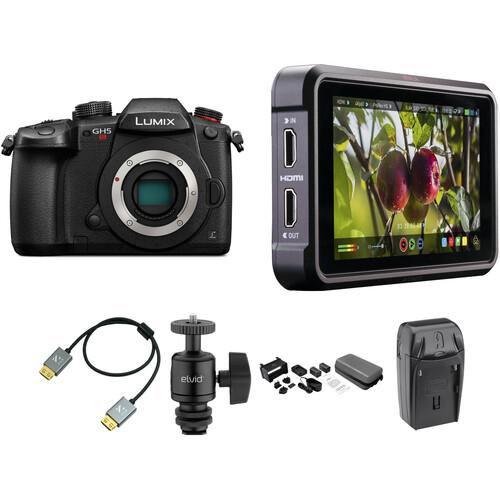 Panasonic Lumix DC-GH5S Mirrorless Digital Camera Cine Kit
