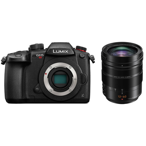 Panasonic Lumix DC-GH5S Mirrorless Micro Four Thirds Digital Camera with 12-60mm Lens