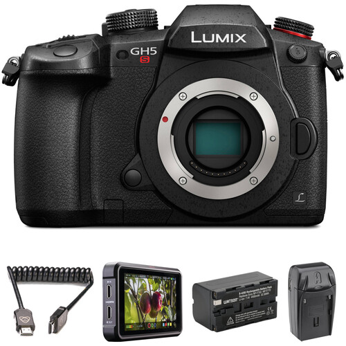 Panasonic Lumix DC-GH5S Mirrorless Micro Four Thirds Digital Camera HDR Filmmaker Kit
