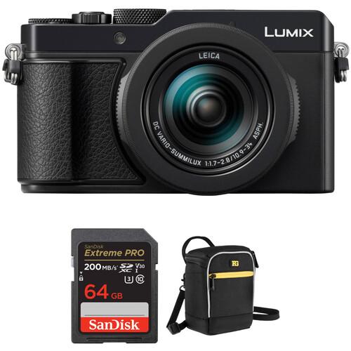 Panasonic Lumix DC-LX100 II Digital Camera with Accessory Kit