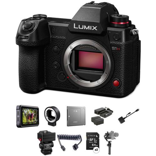 Panasonic Lumix DC-S1H Mirrorless Digital Camera Filmmaker's Kit