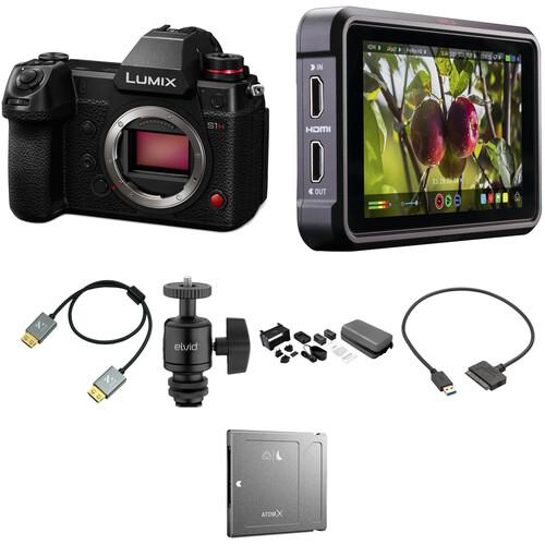 Panasonic Lumix DC-S1H Mirrorless Digital Camera Cine Kit