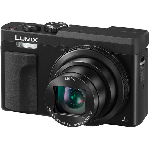 Panasonic Lumix DC-ZS70 Digital Camera Basic Kit (Black)