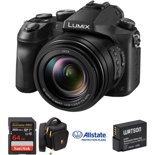 Panasonic Lumix DMC-FZ2500 Digital Camera Deluxe Kit