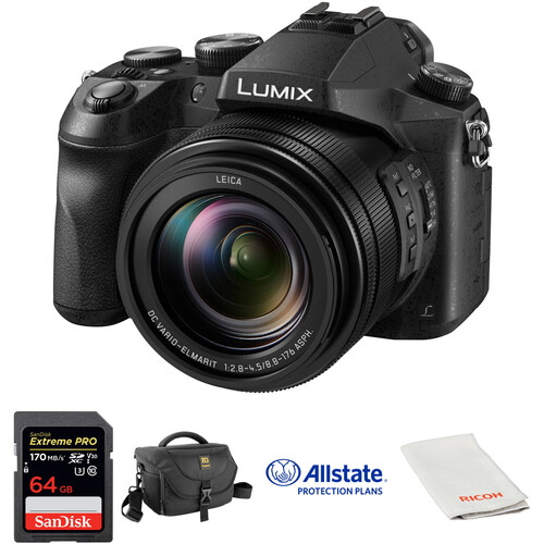 Panasonic Lumix DMC-FZ2500 Digital Camera Deluxe Kit