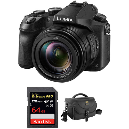 Panasonic Lumix DMC-FZ2500 Digital Camera with Free Accessory Kit
