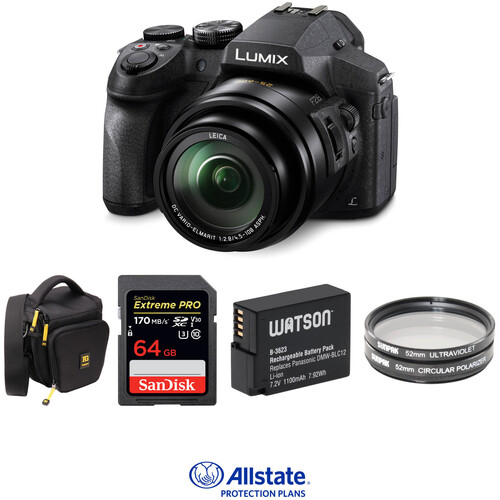 Panasonic Lumix DMC-FZ300 Digital Camera Deluxe Kit