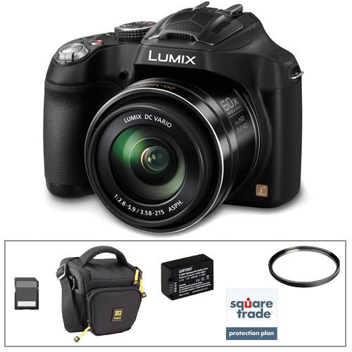 Panasonic Lumix DMC-FZ70 Digital Camera Deluxe Kit