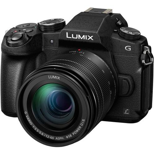 Panasonic Lumix DMC-G85 Mirrorless Micro Four Thirds Digital Camera with 12-60mm Lens