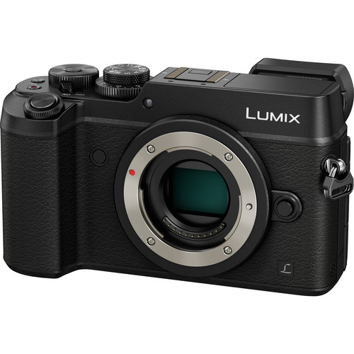 Panasonic Lumix DMC-GX8 Mirrorless Micro Four Thirds Digital Camera with 12-35mm Lens Kit (Black)