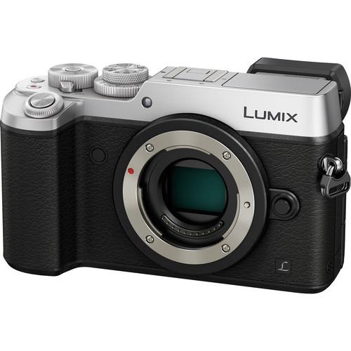 Panasonic Lumix DMC-GX8 Mirrorless Micro Four Thirds Digital Camera Deluxe Kit (Silver)