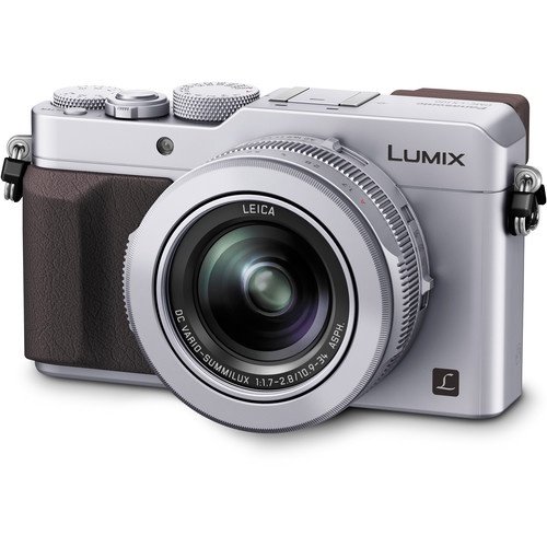 Panasonic Lumix DMC-LX100 Digital Camera Basic Kit (Silver)