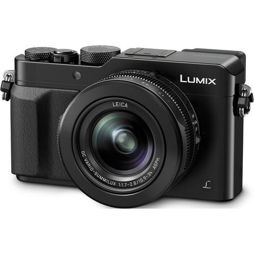 Panasonic Lumix DMC-LX100 Digital Camera Basic Kit (Black)
