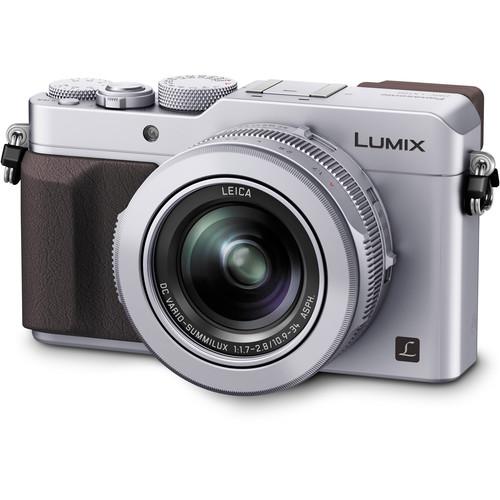 Panasonic Lumix DMC-LX100 Digital Camera Basic Kit (Silver)