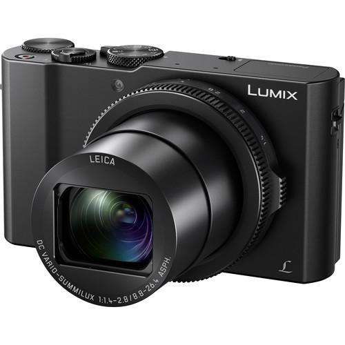Panasonic Lumix DMC-LX10 Digital Camera Deluxe Kit