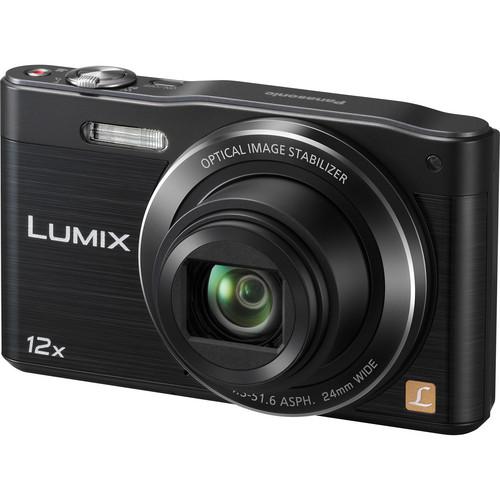 Panasonic LUMIX DMC-SZ8 Digital Camera (Black)