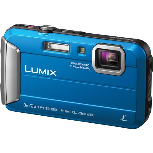 Panasonic Lumix DMC-TS30 Digital Camera Basic Kit (Blue)