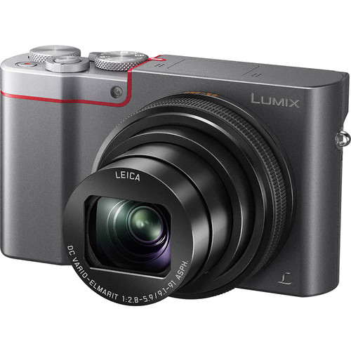 Panasonic Lumix DMC-ZS100 Digital Camera Deluxe Kit (Silver)