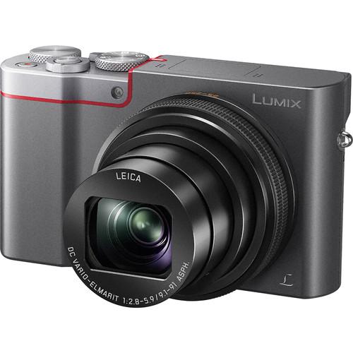 Panasonic Lumix DMC-ZS100 Digital Camera Basic Kit (Silver)