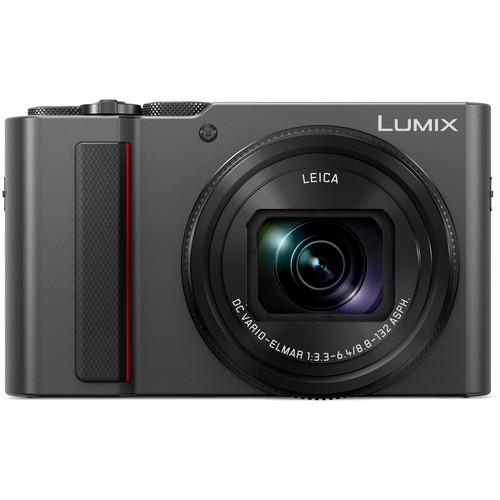 Panasonic Lumix DC-ZS200 Digital Camera (Silver)