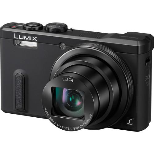 Panasonic Lumix DMC-ZS40 Digital Camera (Black)