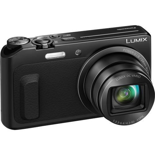 Panasonic Lumix DMC-ZS45 Digital Camera Basic Kit (Black)