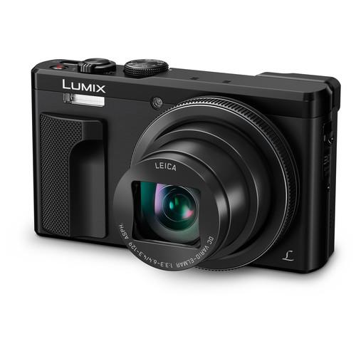 Panasonic Lumix DMC-ZS60 Digital Camera Basic Kit (Black)