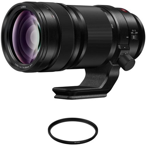 Panasonic Lumix S PRO 70-200mm f/4 O.I.S. Lens with UV Filter Kit