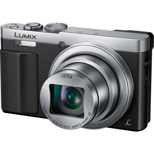 Panasonic Lumix DMC-ZS50 Digital Camera (Silver, Refurbished)