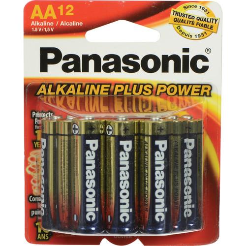 Panasonic AA 1.5V Alkaline Batteries (12-Pack)