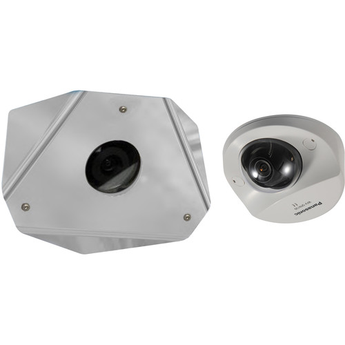 Panasonic WV-SFN130 1080p Network Dome Camera with Corner Mount Cover