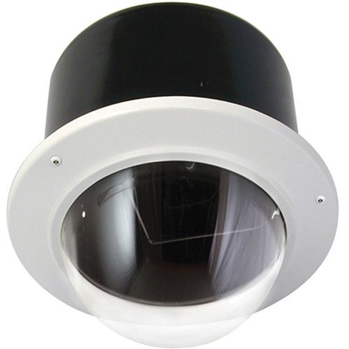 Panasonic PIDV7CN Vandal-Proof Indoor Recessed Ceiling-Mount Housing for Dome Cameras (Clear)
