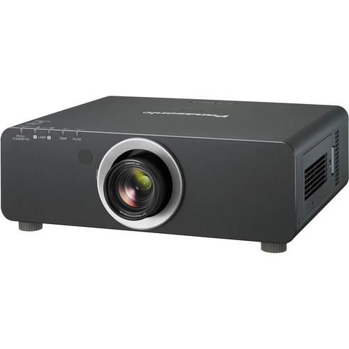 Panasonic PT-DW740UK 1-Chip 7000 Lumens DLP Projector with Lens (Black)