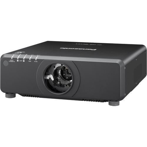 Panasonic PT-DW750LBU 7000-Lumen WXGA DLP Projector without Lens (Black)