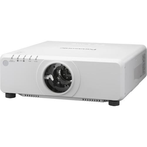 Panasonic PT-DW750LWU 1-Chip 7000L WXGA DLP Projector (White)