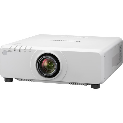 Panasonic PT-DW750WU 7000-Lumen WXGA DLP Projector with Lens (White)