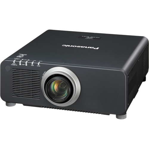 Panasonic PT-DW830UK 8500-Lumen WXGA DLP Projector with Lens (Black)