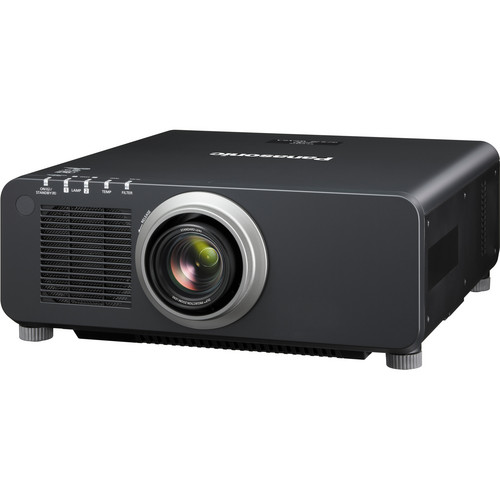 Panasonic 1-Chip 8,500 Lumens DLP Projector (with Lens, Black)