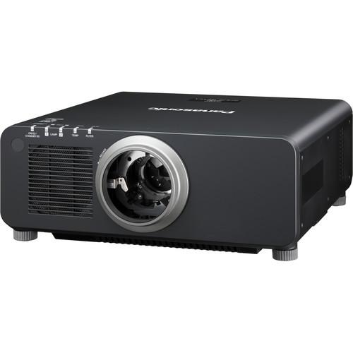 Panasonic 1-Chip 8,500 Lumens DLP Projector (without Lens, Black)