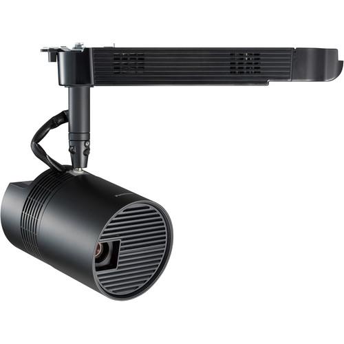 Panasonic PT-JW130H WXGA 1000-Lumen Space Player DLP Track-Mount Projector (Black)