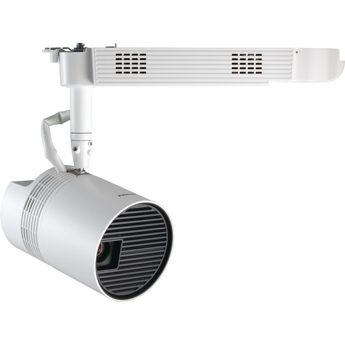 Panasonic PT-JW130H WXGA 1000-Lumen Space Player DLP Track-Mount Projector (White)