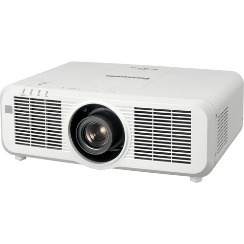 Panasonic WXGA Large Venue 8,000 Lumens Laser Projector with Lens (White)